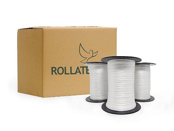 Fitilho chato 1mm - rolo c/1000mts - Caixa com 32 rolos