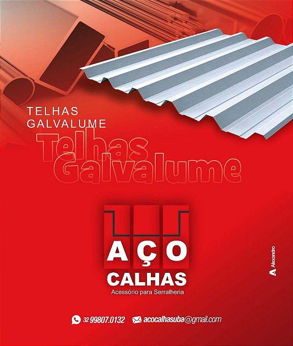 TELHA GALVALUME 5 BICAS 0,43MM
