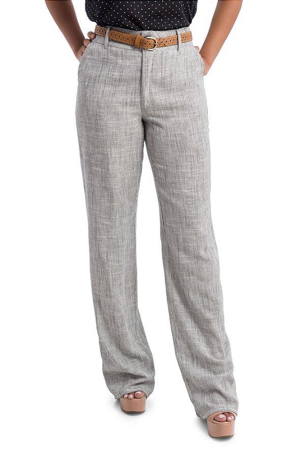 Molde Calça Pantalona com Bolso Graduada nos Tamanhos 34 ao 50