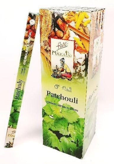 Incenso Natural Flute Massala Patchouli