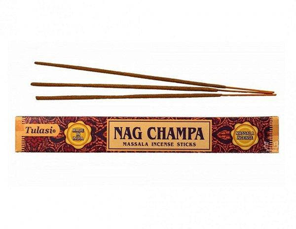 Incenso Natural Tulassi Massala Nag Champa