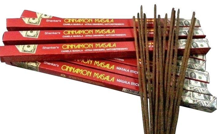 Incenso Cinnamon Massala Shankar