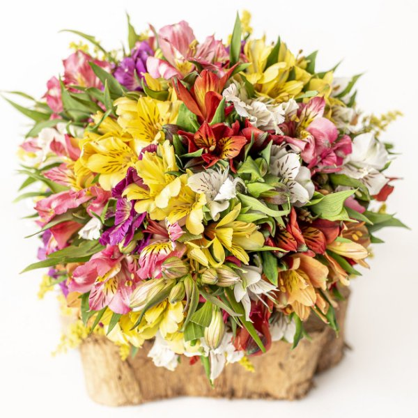 Bouquet de Astromélia