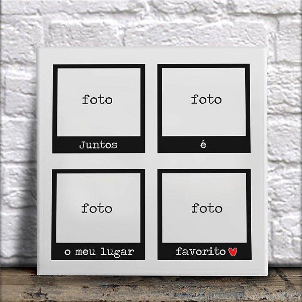 Azulejo Com Fotos Polaroid (Modelo 2)
