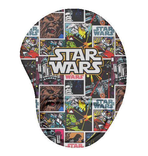 Mouse Pad Ergonômico HQ Star Wars