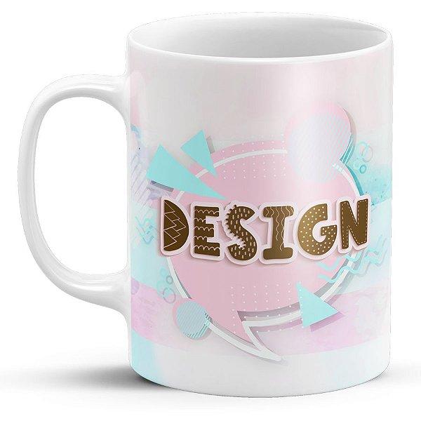Caneca de Porcelana Design
