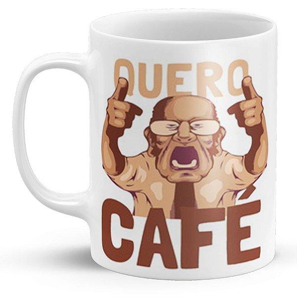 Caneca de Porcelana Quero Café