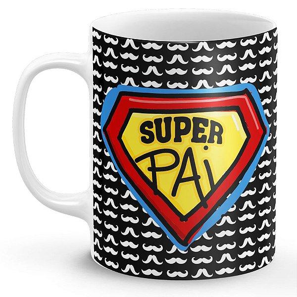 Caneca Personalizada Dia dos Pais - Super Pai (Modelo 2)
