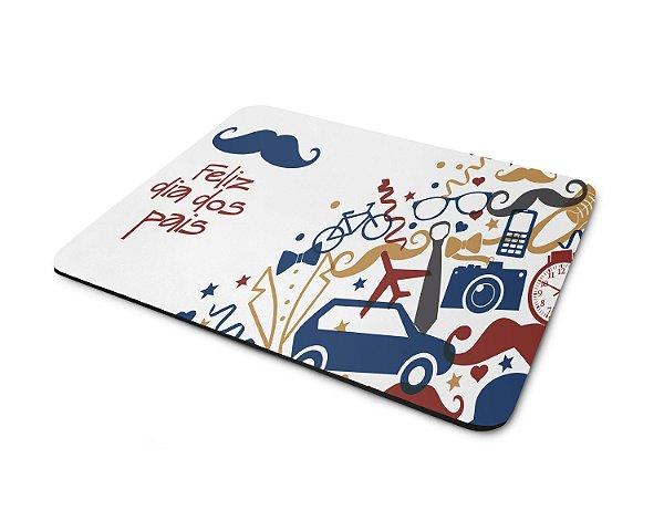 Mouse Pad Dia dos Pais - Feliz Dia dos Pais (Modelo 5)