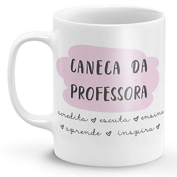 Caneca de Porcelana Da Professora