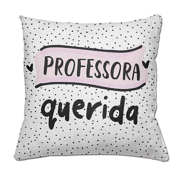 Almofada Personalizada Professora Querida
