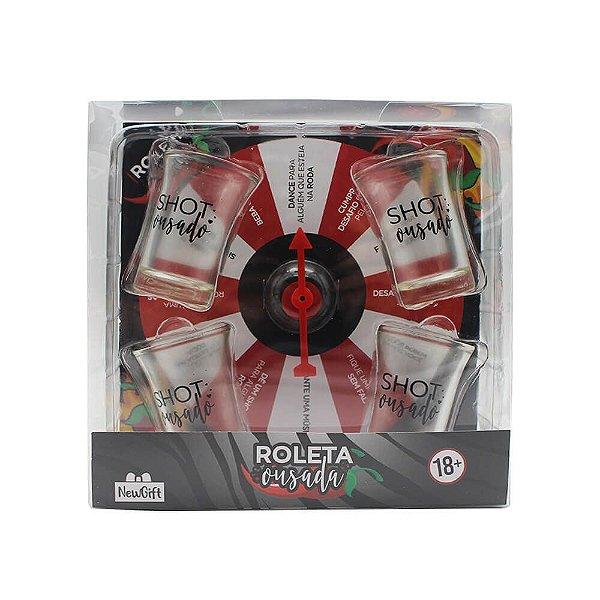 Jogo Roleta Ousada com 4 Shots