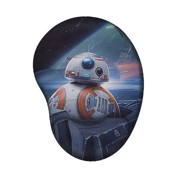 Mouse Pad Ergonômico BB-8 Star Wars
