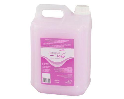 Sabonete Líquido Cremoso Bactericida Antisséptico Gel - Galão de 5L