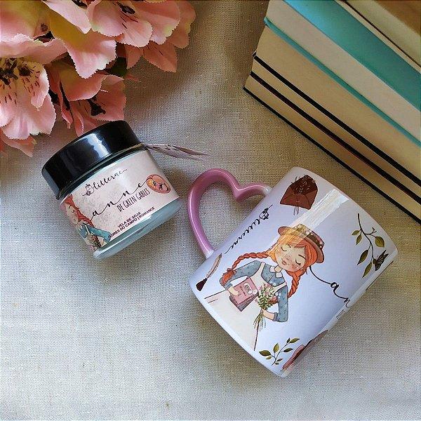 BOX 1 Anne de Green Gables - Vela literária + caneca