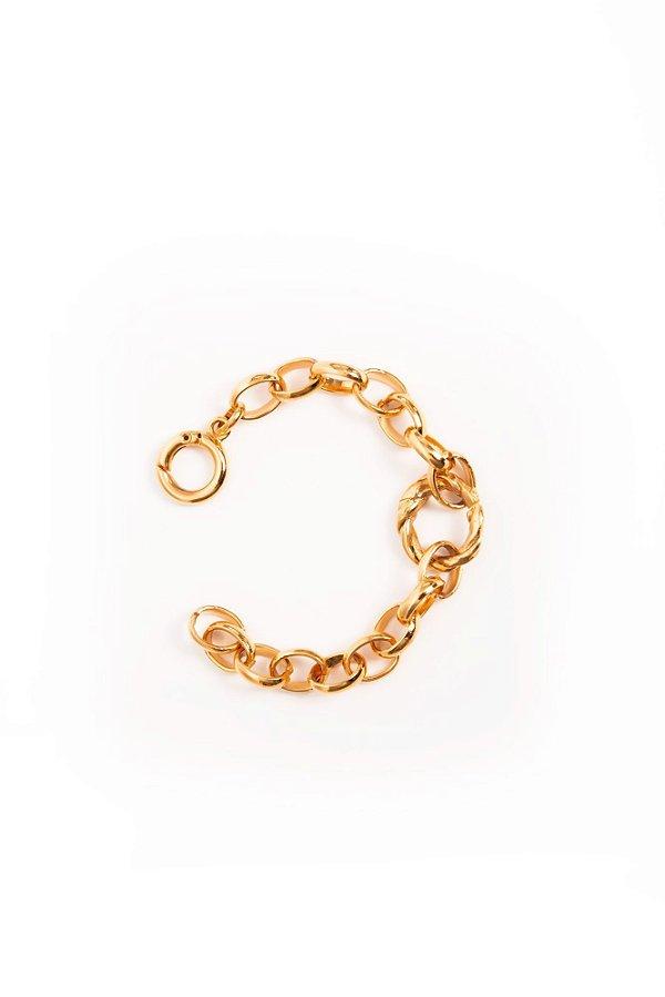 pulseira corrente ouro