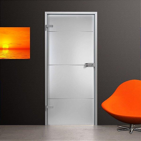 Adesivo jateado SJP para portas de 60 a 100 cm de largura (altura até 215 cm)