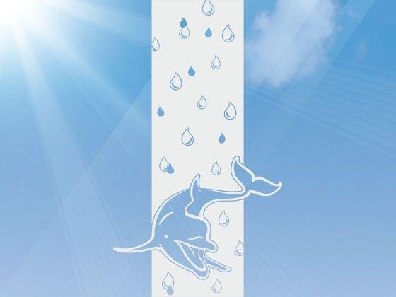 Adesivo jateado para vidros Natureza - 185x065 - Consulte outras medidas