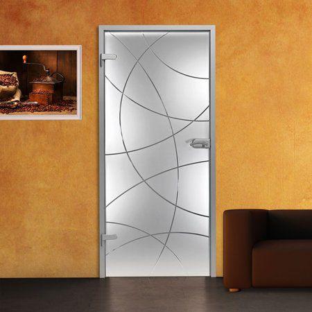 Adesivo decorativo jateado para portas - 210x060 -