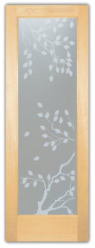 Personalizado - Adesivo jateado - floral 7 - tamanho 220x093 cm e 046x093 cm