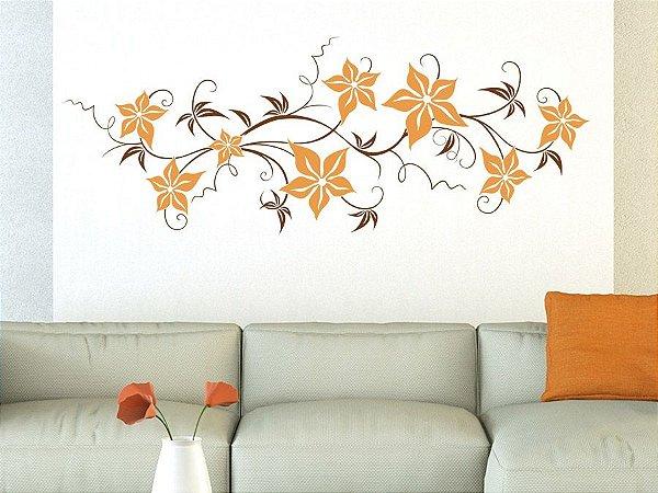 Adesivo de parede - Arranjo de Flores