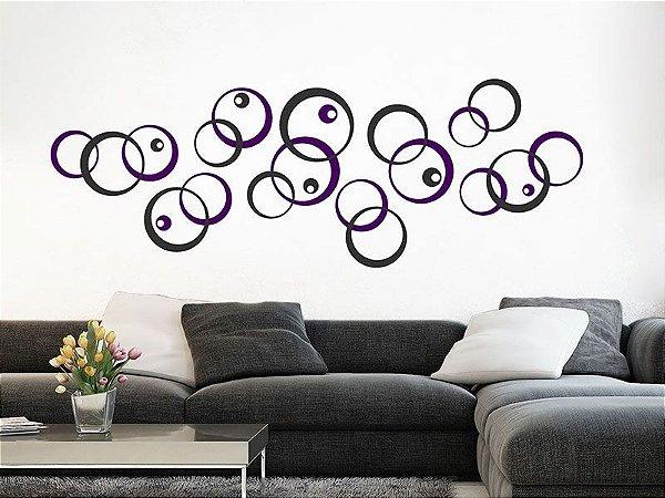 Adesivo de parede - Círculos Pequenos