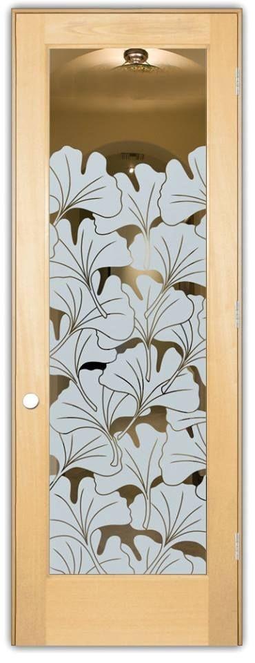 Adesivo Decorativo Jateado - Floral  - 170x060 cm