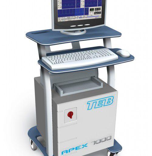 Sistema de Ergometria APEX 1000 - Amplificador, Mesa e Informática