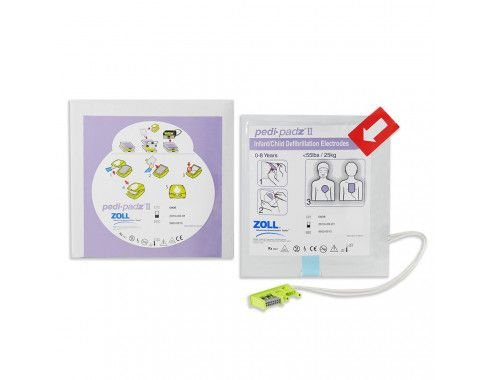 Eletrodo Pediátrico Zoll - PEDI-PADZ II -Eletrodo Multifunção Pediátrico