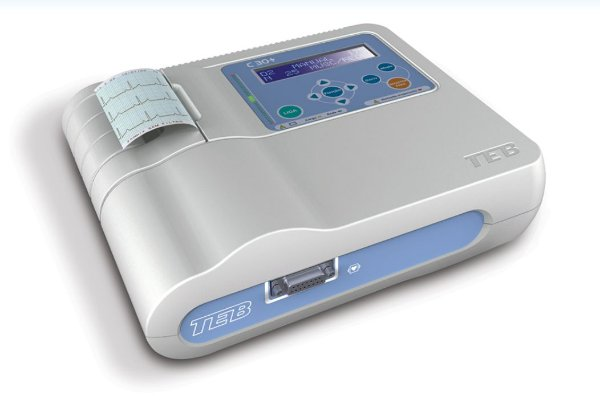 Eletrocardiógrafo Portátil C30+ TEB