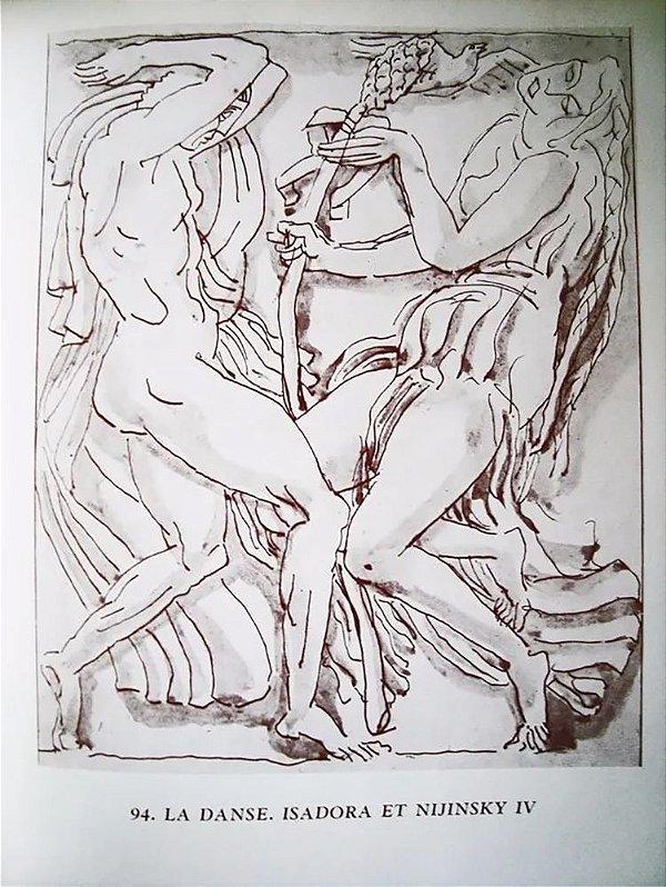 Livro - Isadora e Nijijnsky - Bourdelle et La Dance - Balé, Paris 1969