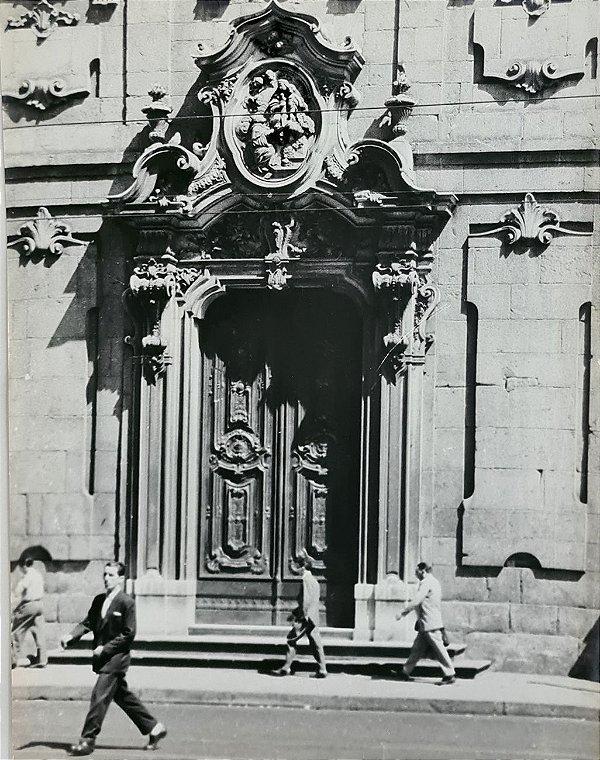 JEAN LECOCQ - Fotógrafo Premiado - Fotografia Original , Porta Barroco Veneziano - 40x30cm