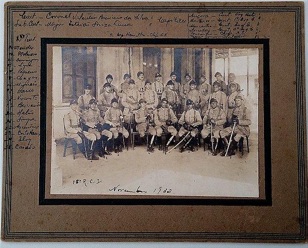 Fotografia  Original da Revolução de 32, Regimento Andrade Neves