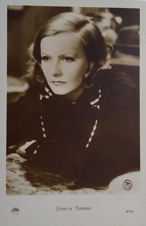 Greta Garbo - Fotografia Original Antiga