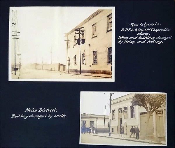 Duas Fotografias Antigas Originais - Glicério e Mooca, Revolução Constitucionalista de 1932
