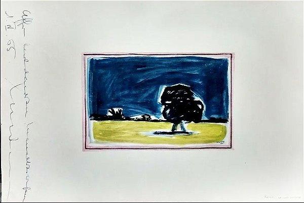 Portfólio - 20 Estampas, 10 Maiores Pintores Argentinos, Assinado