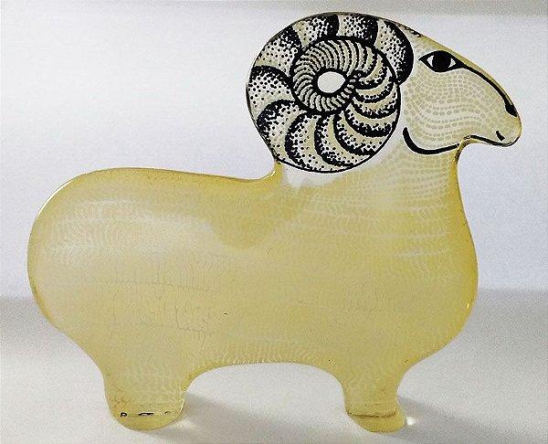 Palatnik - Escultura Cinética em Acrílico, Rara Figura Carneiro