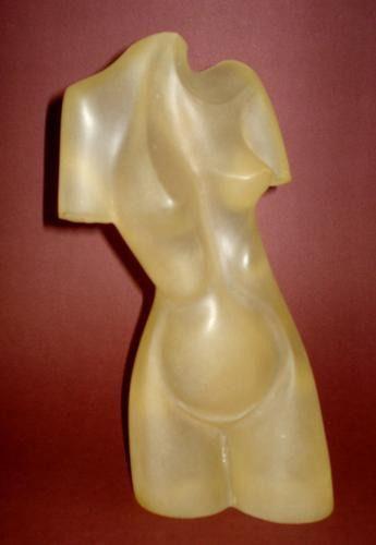 Guita Lerner- Prova de Artista - Escultura em Acrílico Assinada