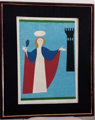 Volpi, Alfredo - Serigrafia Original Assinada, Prova Artista 70x50cm