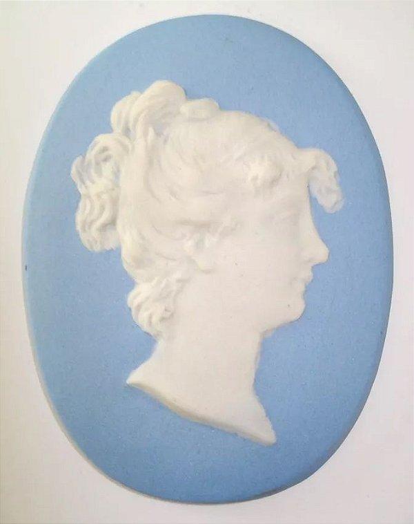 Wedgwood - Camafeu de Parede em Porcelana Biscuit