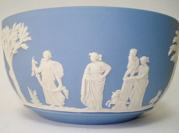 Wedgwood - Tigela / Bowl Em Porcelana Biscuit
