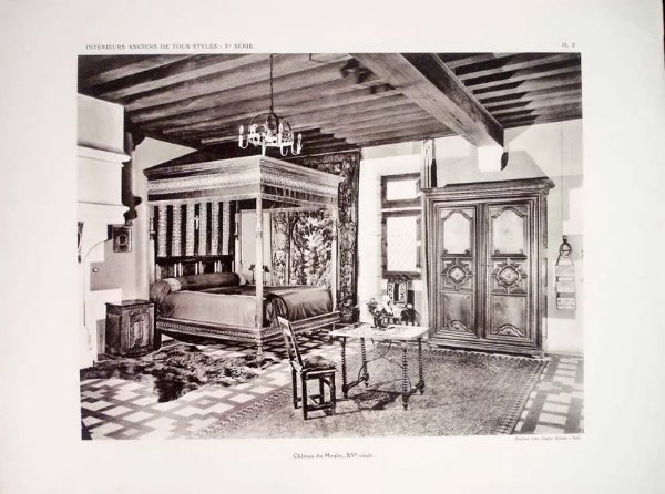 Intérieurs Anciens De Tous Styles, Arquitetura e Decoração Pasta 36 Imagens