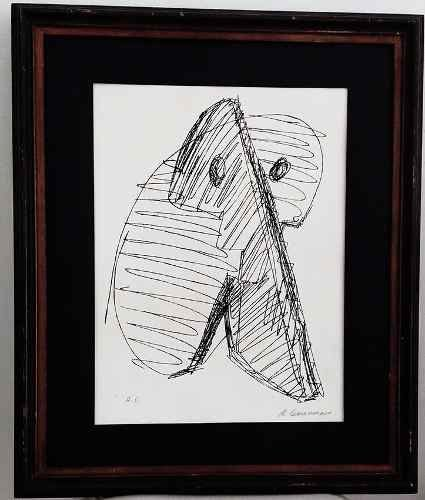 Rubens Gerchman - Gravura Serigrafia H. C. , Original, Assinada