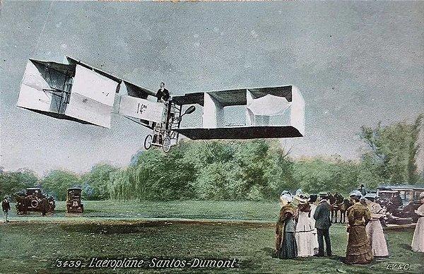 Santos Dumont - Cartão Postal Antigo Original