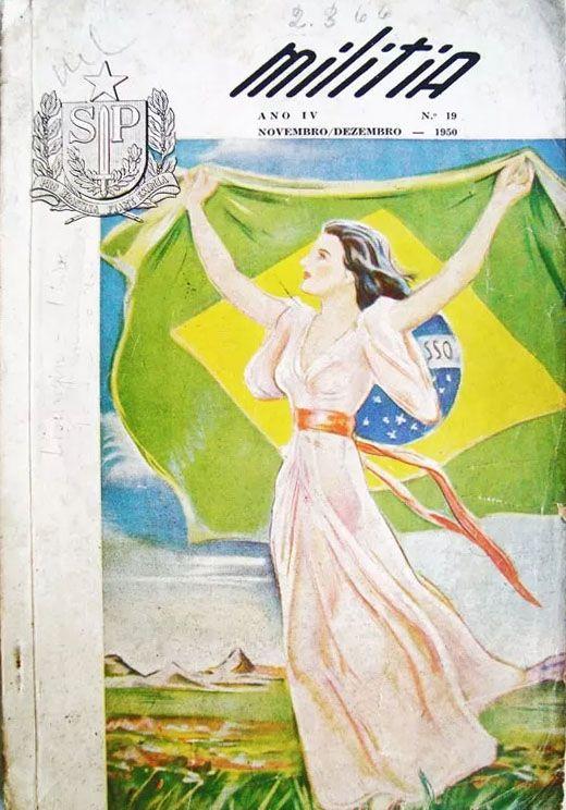 Militia - Revista Nº 19, 1950 - Assuntos Policiais E Militares