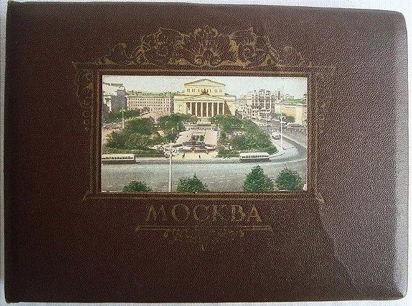 Rússia, Álbum com 20 Fotografias - A Capital Da Nossa Pátria Moscou