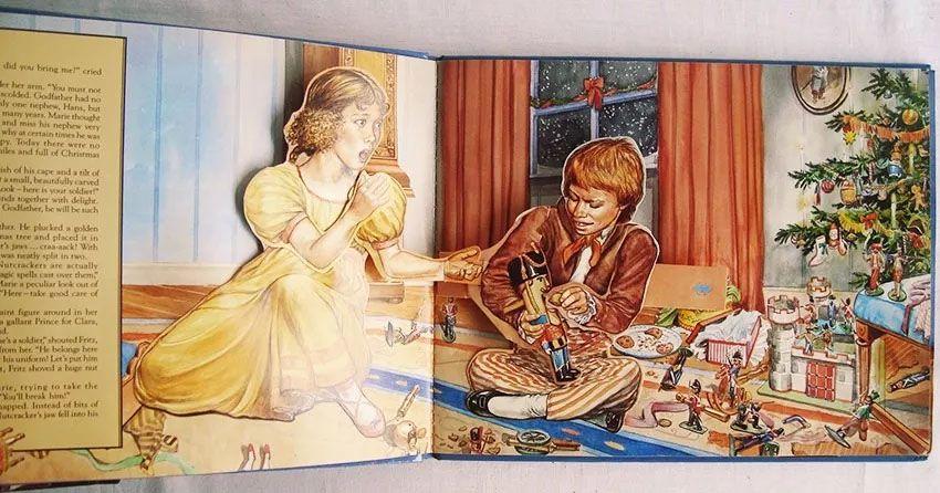 Livro Dimensional O Quebra-nozes, The Nutcracker