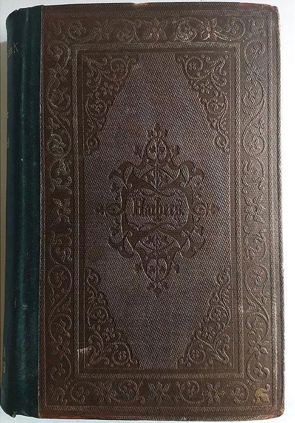 Livro Life In Brazil, Primeira Edição,  Thomas Ewbank, 1856