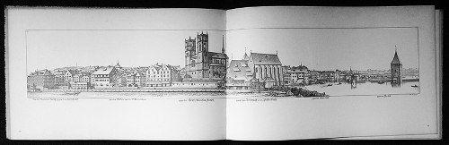 Livro De 1967 com Imagens De Gravuras De Zurich, Grande Formato