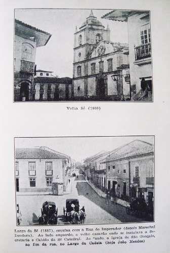 Livro São Paulo De Outrora de Paulo Cursino Moura - Imagens e Texto, 1943
